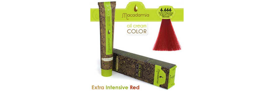 Oil cream color Extra Intensive Red