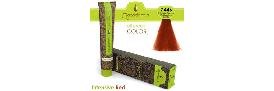 Oil cream color Intensive Red