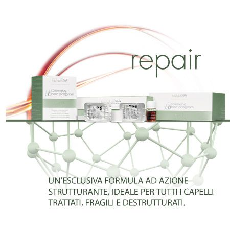 Collexia Repair Back To Perfect Cosmetic Hair Program - Trattamento Idratante per capelli - 12 Capsule + 12 Stick
