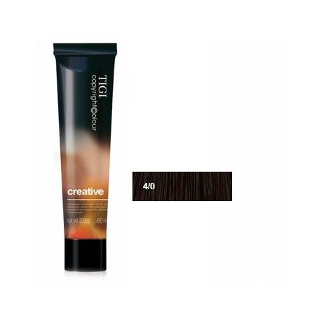 Tigi Copyright Colour Creative 4/0 Marrone Naturale 60ml
