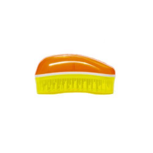 Dessata Spazzola Districante Mini Fluo Arancione Giallo