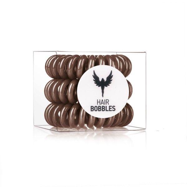 HH Simonsen Hair Bobbles Marrone Elastico Per Capelli - 3 PZ