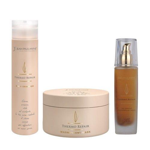 Jean Paul Mynè Thermo Repair Shampoo 250ml Leave In 150ml Hair Treatment 50ml