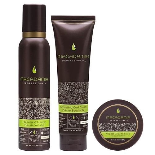 Macadamia Professional - Get The Look Luxurious Curls Set