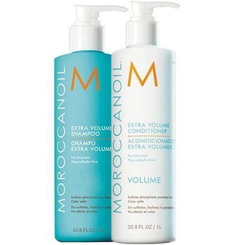 Moroccanoil Kit Extra Volume Shampoo 1000ml + Extra Volume Conditioner 1000ml