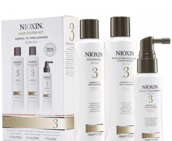 Nioxin Sistema 3 <br>Trial Kit <br> 150 ml + 150 ml + 50 ml