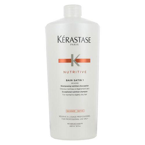 Kerastase Nutritive Bain Satin Irisome 1 1000ml Shampoo Nutriente Capelli Normali Secchi