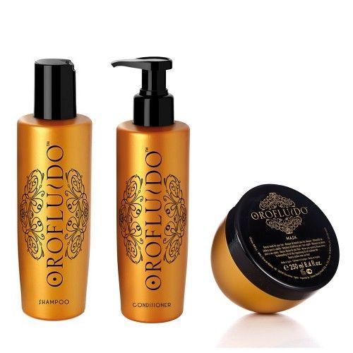 Orofluido Shampoo 200ml + Conditioner 200ml + Maschera 250ml