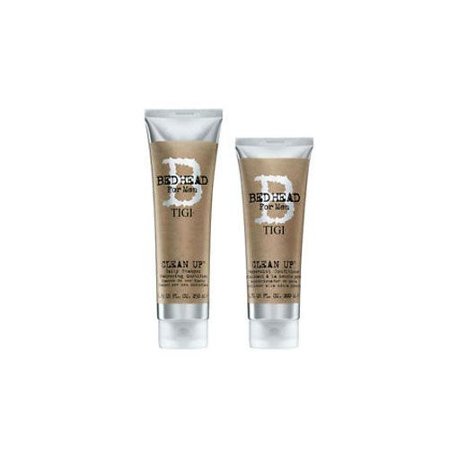 Tigi Kit B for Men Clean Up Daily Shampoo 250ml Conditioner 200ml