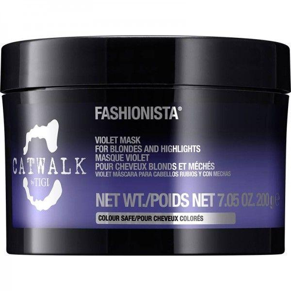Tigi Catwalk Fashionista Violet Mask 200 g