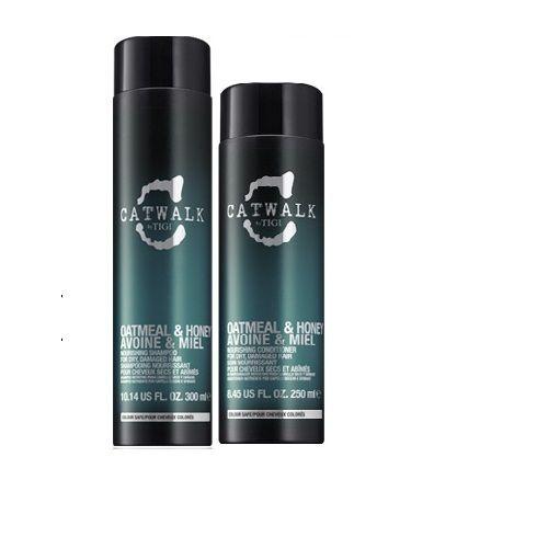Tigi CatWalk Oatmeal & Honey Shampoo 300ml Conditioner 250ml