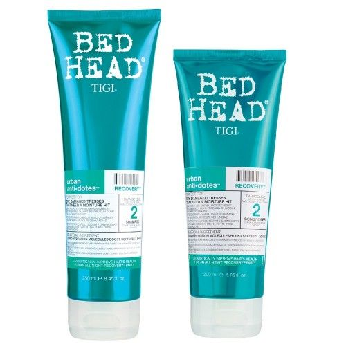 TigiUrban Anti Dotes Kit Recovery Shampoo 250ml + Conditioner 200ml