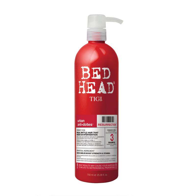 Tigi Bed Head Resurrection Shampoo 750ml
