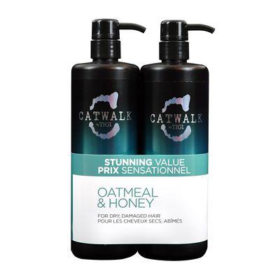 Tigi Catwalk Oatmeal Honey Shampoo 750ml Conditioner 750ml