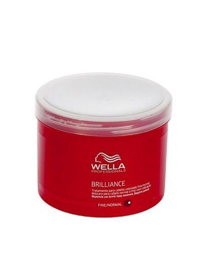 Wella Brilliance Maschera Capelli Normali/Fini 500 ml