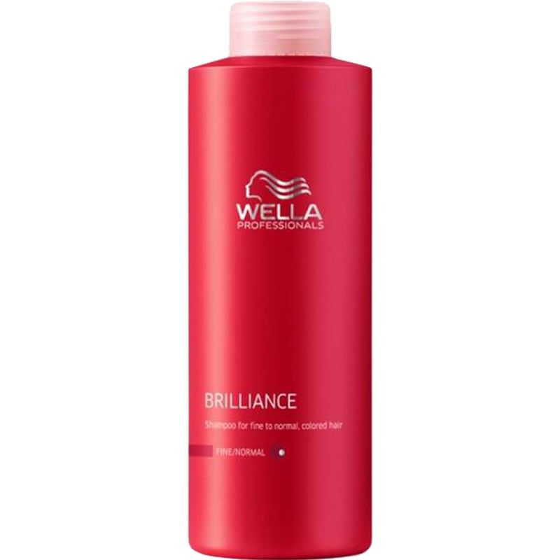 Wella Brilliance Shampoo Capelli Normali/fini 1000 ml