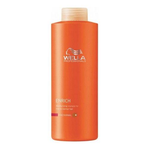 Wella Enrich Shampoo Idratante Capelli Normali/Fini 1000ml