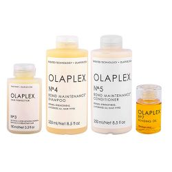 Olaplex Set Completo Ricostruzione per Capelli Danneggiati N.3-4-5-7