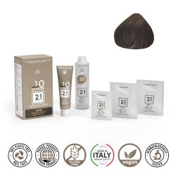 21 Ventuno Kit Professionale Colorazione Capelli 6.13 Biondo Scuro Sabbia