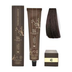 Tecna Tsuyo Organic Hair Colour Naturali - 40 Castano Medio 90ml