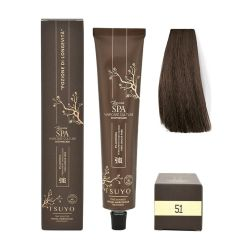 Tecna Tsuyo Organic Hair Colour Cenere - 51 Castano Chiaro Cenere 90ml
