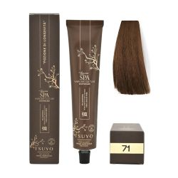 Tecna Tsuyo Organic Hair Colour Cenere - 71 Biondo Medio Cenere 90ml