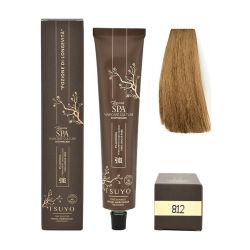 Tecna Tsuyo Organic Hair Colour Cenere - 812 Biondo Chiaro Beige 90ml