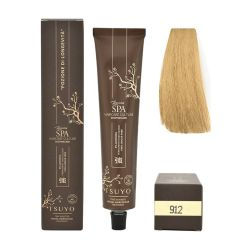 Tecna Tsuyo Organic Hair Colour Cenere - 912 Biondo Chiarissimo Beige 90ml