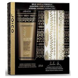 Joico K-Pak Deep Penetrating 200ml + Temporaly Metallic Jewelry Tattoos