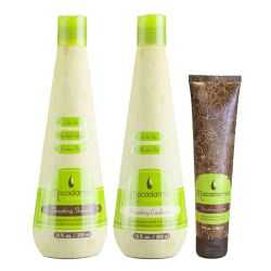 Macadamia Natural Oil Smoothing Shampoo + Conditioner + Crema