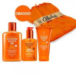Tecna Beach Monoi Kit Shampoo + Oil + Treatment + Telo da mare omaggio