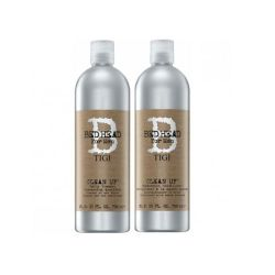 Tigi Kit B for Men Clean Up Daily Shampoo 750ml Conditioner 750ml