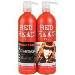 Tigi Bed Head Kit Resurrection Shampoo 750ml Conditioner 750ml
