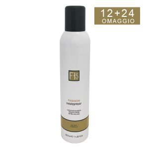 Fashion HairSpray 350 ml - 12 + 24 in omaggio