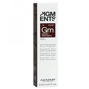 ALFAPARF MILANO Pigments Pigmento Puro 8ml GOLDEN MAHOGANY
