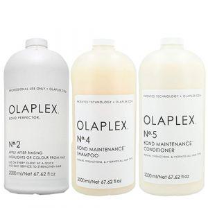 Olaplex Kit Bond Maintenance Shampoo N.4 + Conditioner N.5 + Perfector N.2 2000ml