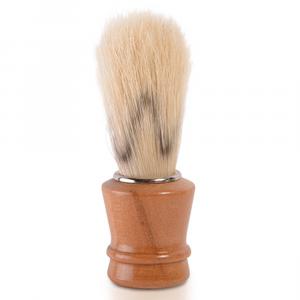 BiFULL Pennello Barbiere Mini Manico Legno