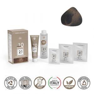 21 Ventuno Kit Professionale Colorazione Capelli 6.31 Cappuccino