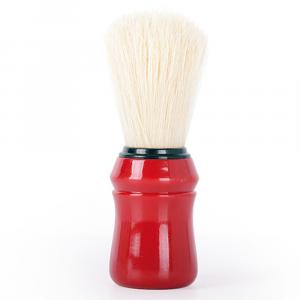 BiFULL Pennello Barbiere Manico Plastica Rosso