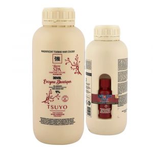 Tecna Tsuyo Enzyme Developer 30 vol. 9% 1000ml + Anti Age Complex 20ml - Ossigeno + Enzimi Anti-età