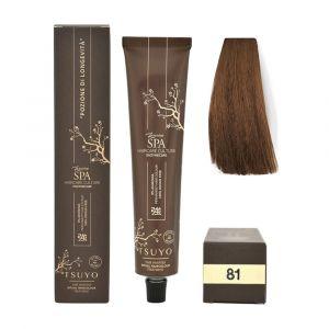 Tecna Tsuyo Organic Hair Colour Cenere - 81 Biondo Chiaro Cenere 90ml