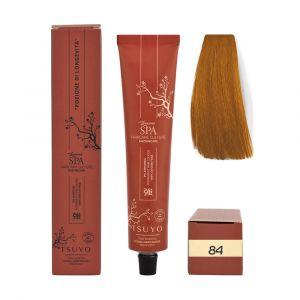 Tecna Tsuyo Organic Hair Colour Ramati - 84 Biondo Chiaro Rame 90ml