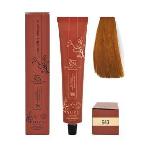 Tecna Tsuyo Organic Hair Colour Ramati - 943 Biondo Chiarissimo Rame Dorato 90ml