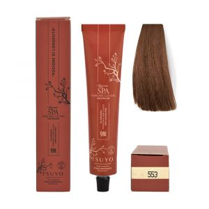 Tecna Tsuyo Organic Hair Colour Castani - 553 Castano Medio Wood Naturale 90ml
