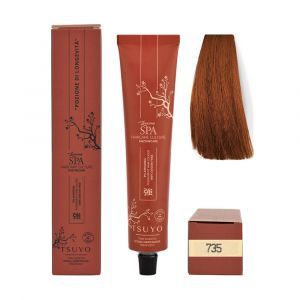 Tecna Tsuyo Organic Hair Colour Castani - 735 Biondo Wood Naturale 90ml