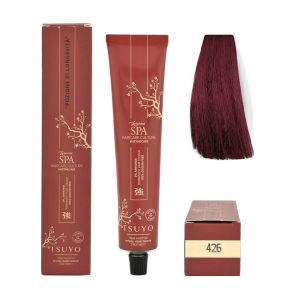 Tecna Tsuyo Organic Hair Colour Rossi - 426 Castano Rosso Irisèe 90ml