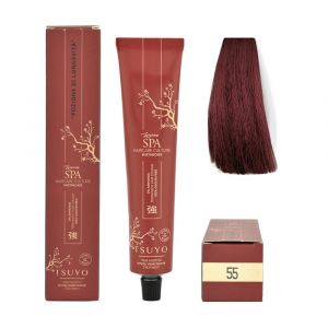 Tecna Tsuyo Organic Hair Colour Mogano - 55 Castano Chiaro Mogano 90ml