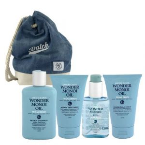 Tecna Beach Monoi Shampoo Oil Cream Treatment Zaino Omaggio