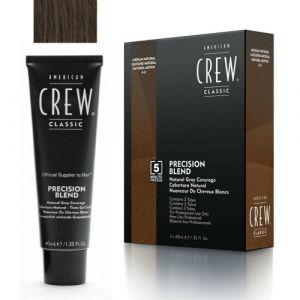 American Crew Classic Precision Blend 4-5 Castano Medio 3x40ml