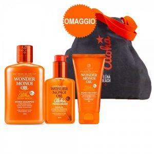 Tecna Monoi Beach Kit Shampoo + Treatment + Oil + Borsa mare omaggio